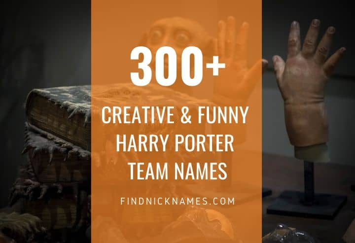 Harry Porter Team Names